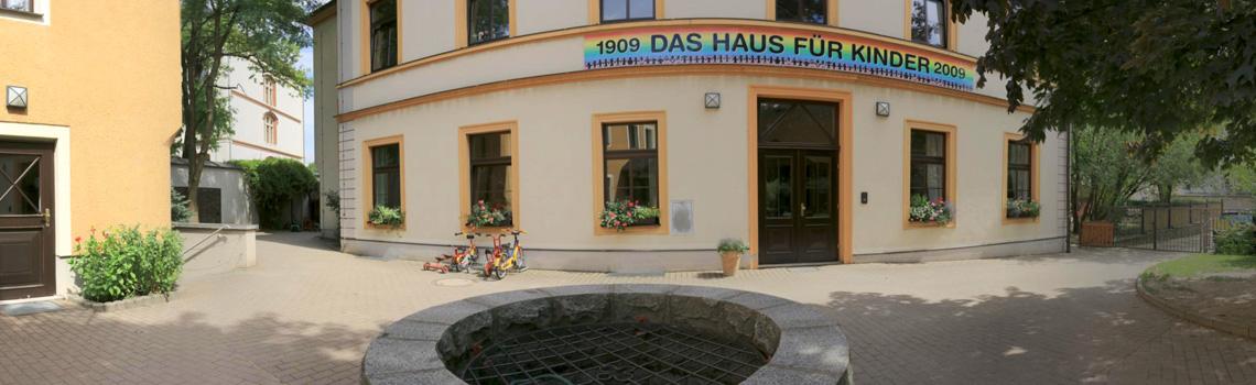 Innenhof - Katholisches Kinderhaus