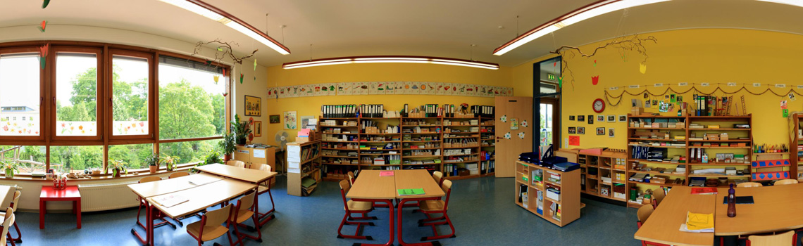 Klassenzimmer - Maria Montessori Schule
